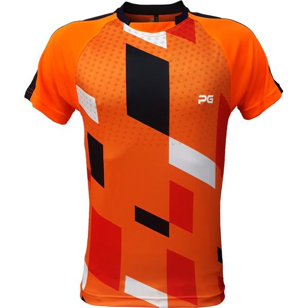 تیشرت ورزشی مردانه پرگان مدل افرا کد 05 رنگ نارنجی