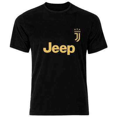 تصویر تی شرت مردانه فلوریزا طرح یوونتوس کد 002