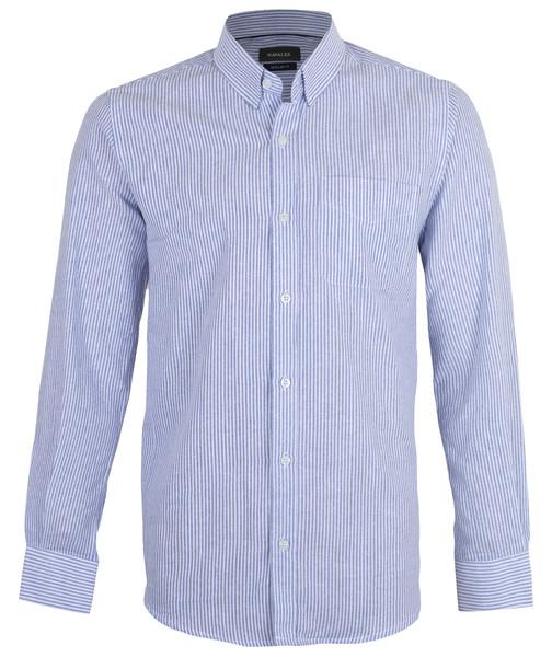 پیراهن مردانه سایز بزرگ ناوالس مدل LRG-strBL
