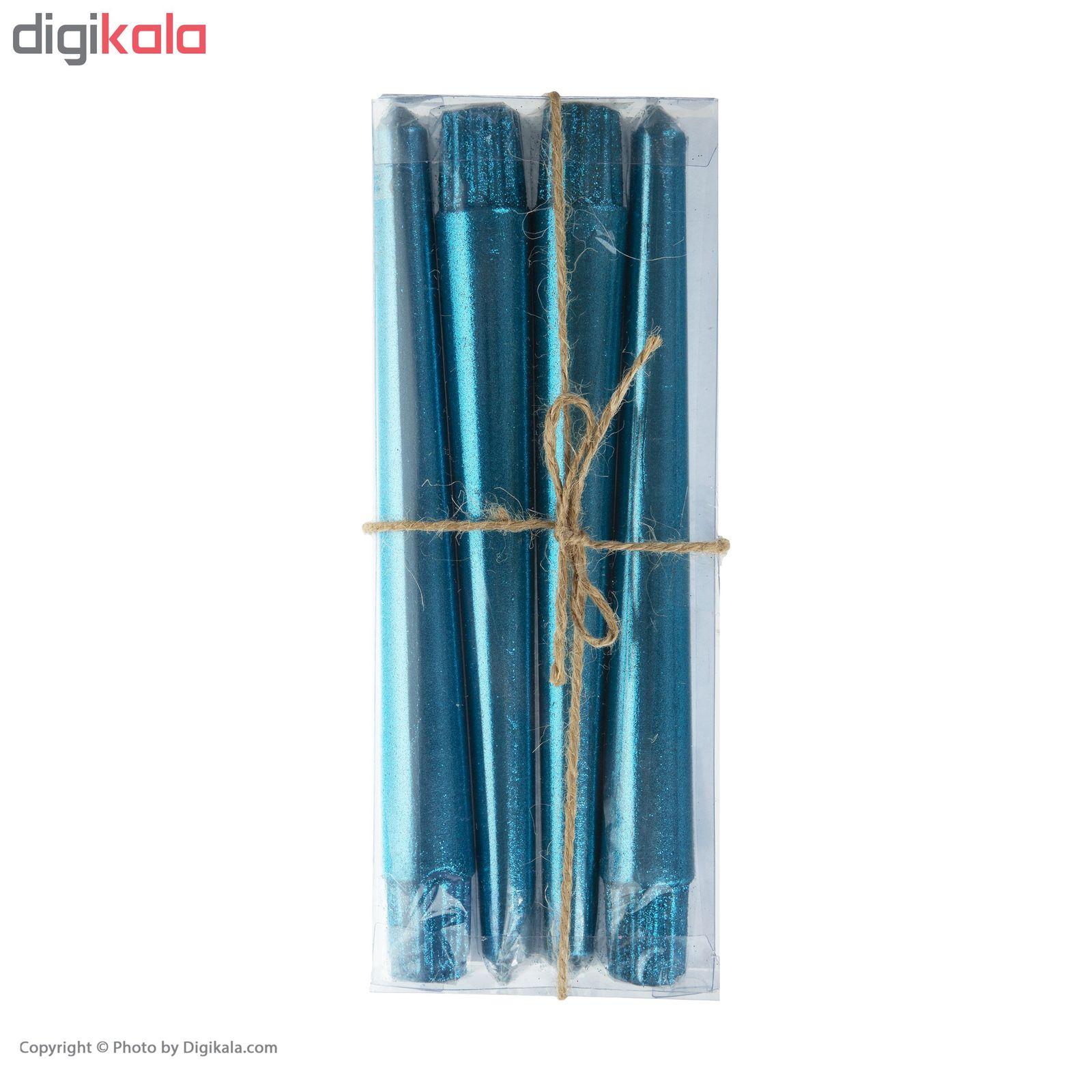 شمع مدل S101 بسته 4 عددی main 1 2