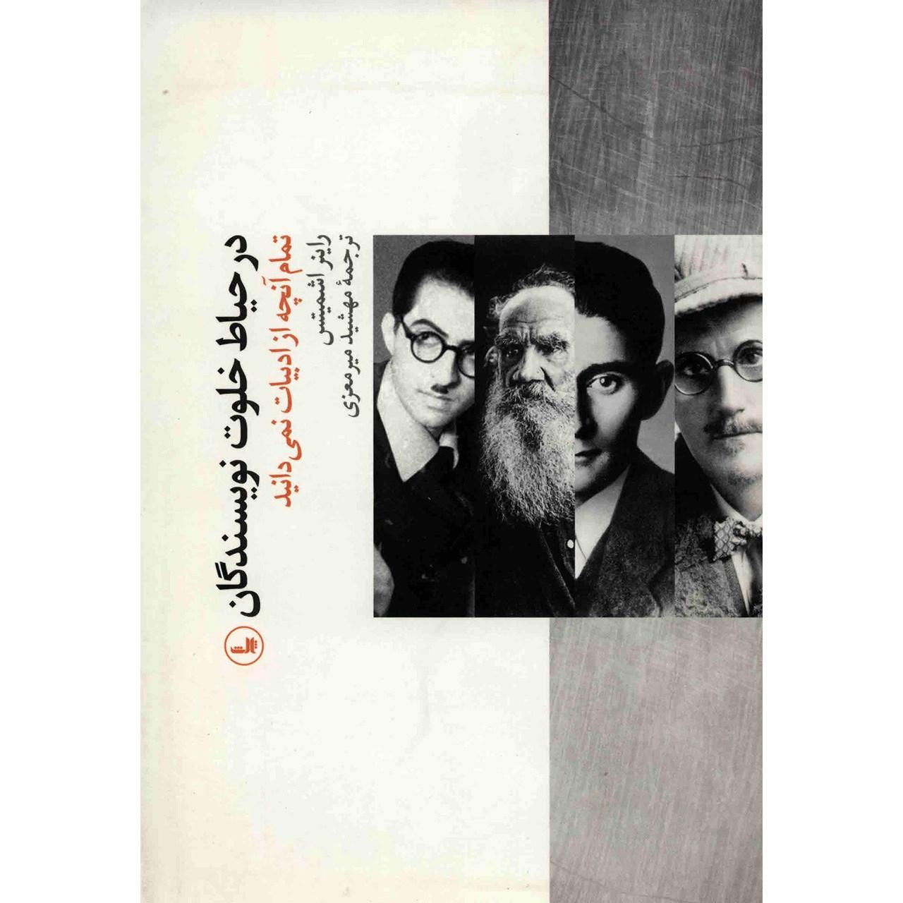 کتاب در حیاط خلوت نویسندگان اثر راینر اشمیتس