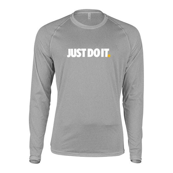 تی شرت مردانه پاتیلوک طرح Just Do It کد 330505