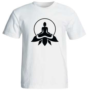 تی شرت  مردانه طرح یوگا کد 12874