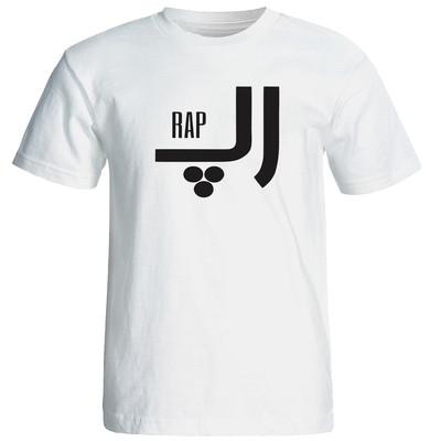 تصویر تی شرت  زنانه طرح رپ کد 19008