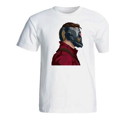 تی شرت مردانه سالامین طرح Star Lord کد SA252
