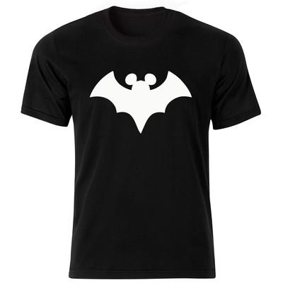 Photo of تی شرت آستین کوتاه زنانه طرح خفاش کد 18047 BW