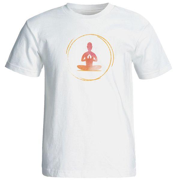 تی شرت  مردانه طرح یوگا کد 12883