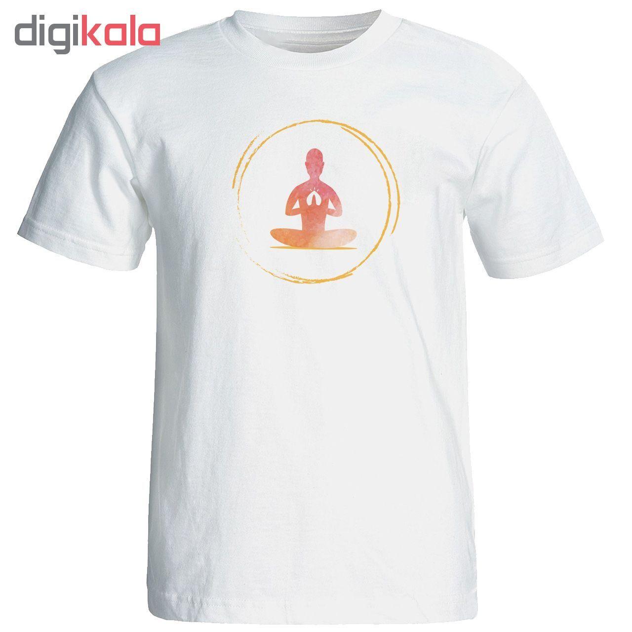 تی شرت  مردانه طرح یوگا کد 12883 main 1 1