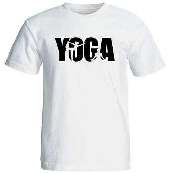 تی شرت  مردانه طرح یوگا کد 12877