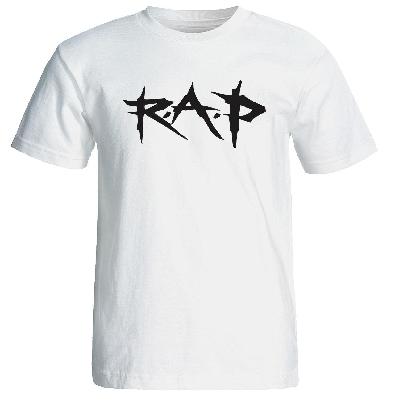 تی شرت  مردانه طرح رپ کد 19015