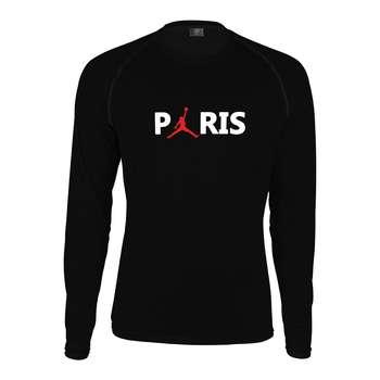 تیشرت آستین بلند مردانه پاتیلوک طرح پاریس مدل 330539