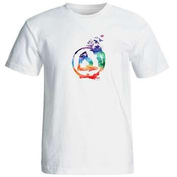 تی شرت  مردانه طرح یوگا کد 12881
