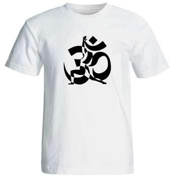 تی شرت  مردانه طرح یوگا کد 12879