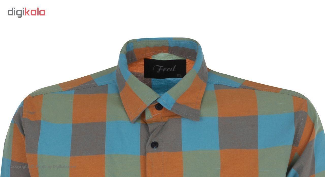 پیراهن مردانه فرد مدل P.baz.122 main 1 3
