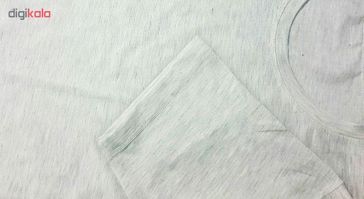تی شرت نه به رسم طرح مسیر قلب کد 474