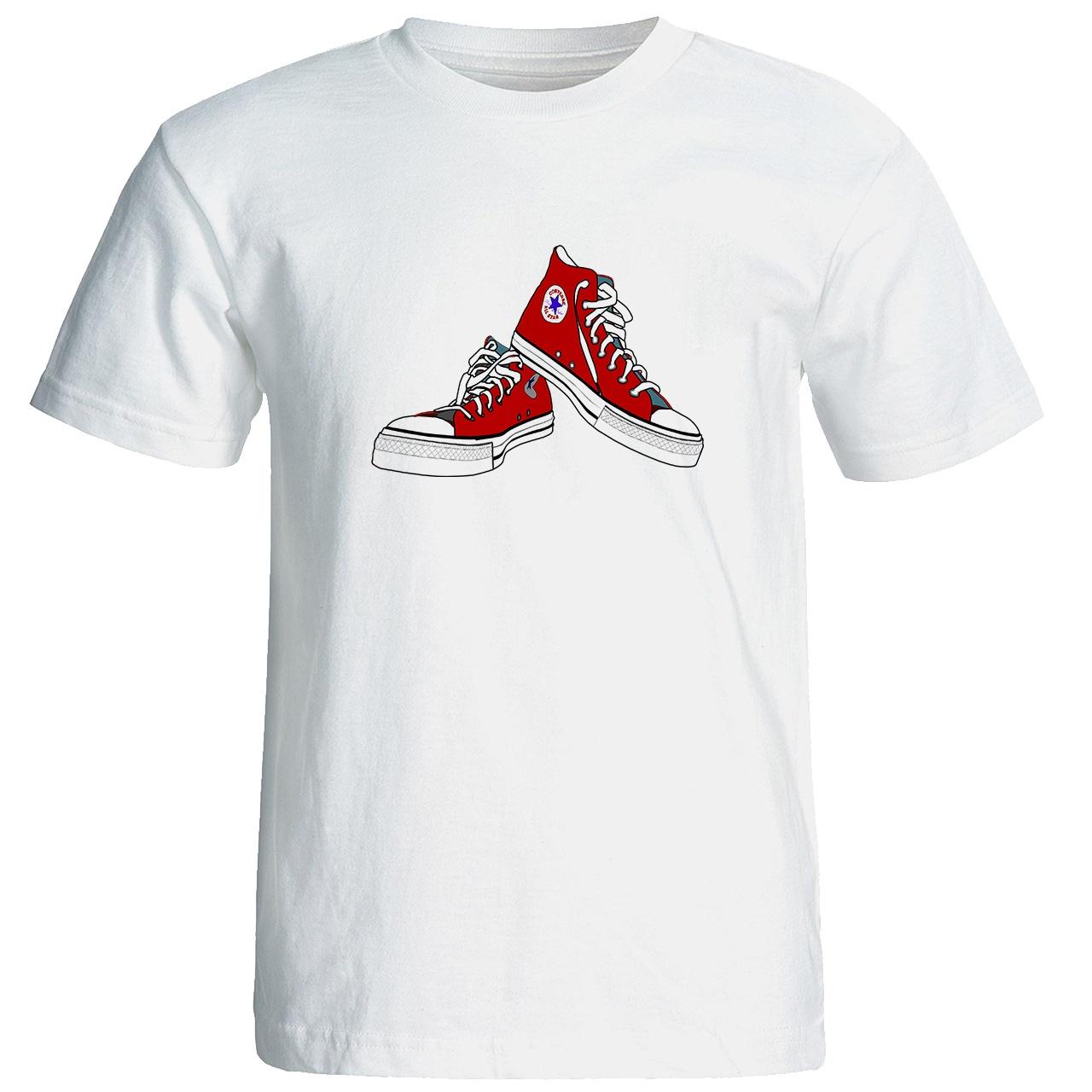 Photo of تی شرت آستین کوتاه مردانه طرح کفش کد ۸۰۰۸