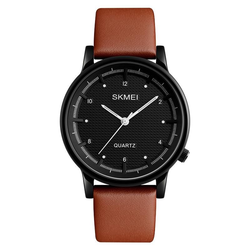 ساعت مچی عقربه ای مردانه اسکمی مدل ۱۲۱۰BR-BLC