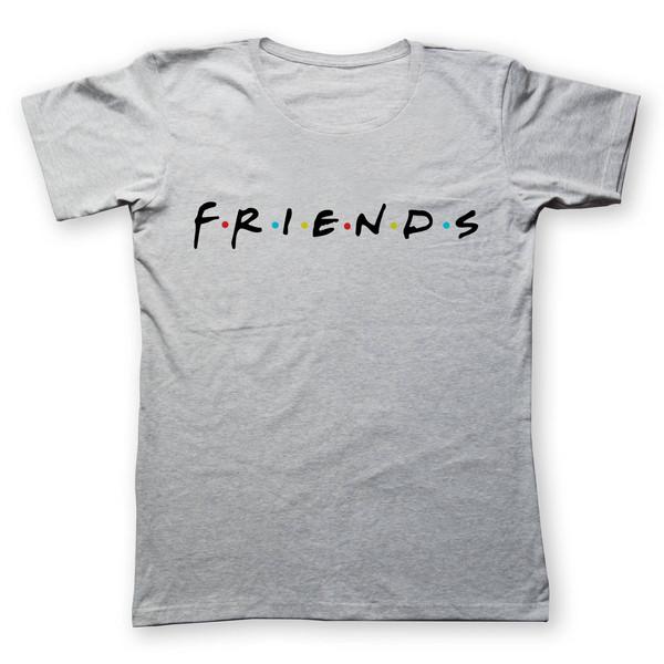 تی شرت مردانه به رسم طرح دوستان کد 287