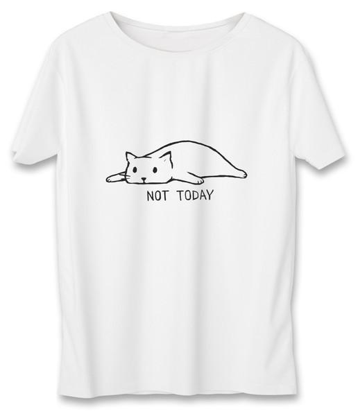 تی شرت زنانه به رسم طرح امروز نه کد 586