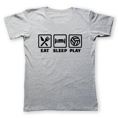 تی شرت مردانه به رسم طرح والیبال بازی کد290