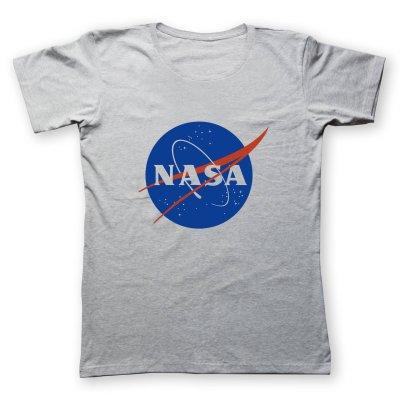 تصویر تی شرت زنانه طرح ناسا کد485