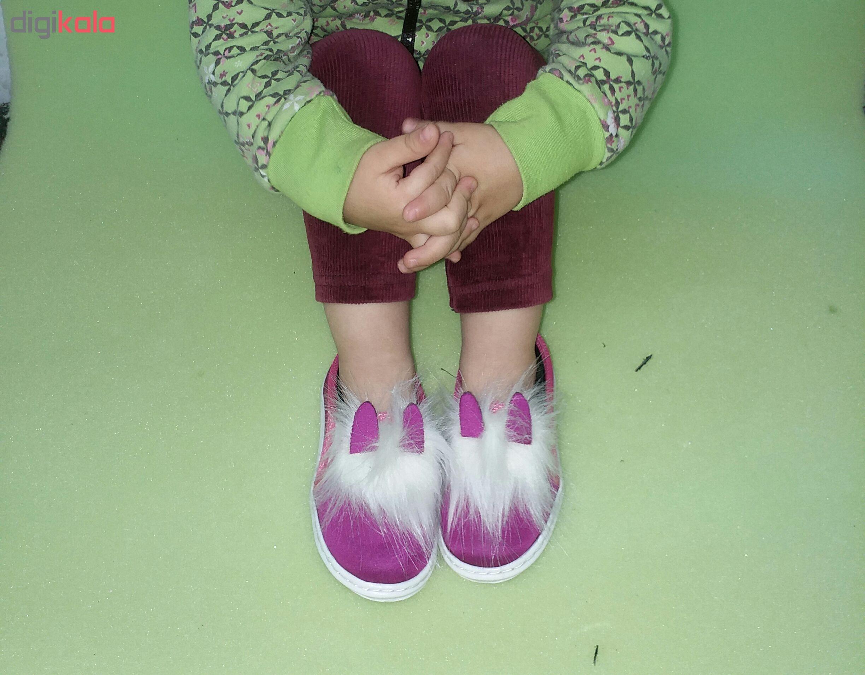 کفش بچگانه طرح خرگوش صورتی رنگ