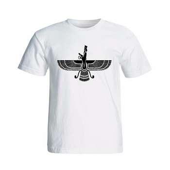 تی شرت آستینکوتاه طرح فروهر کد 13343