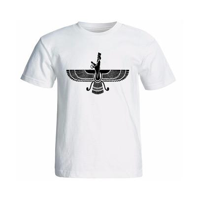 Photo of تی شرت آستینکوتاه طرح فروهر کد 13343