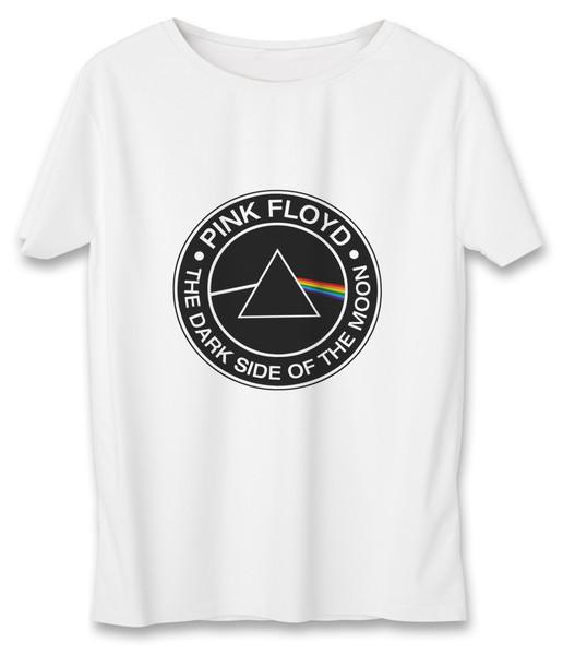 تی شرت مردانه به رسم طرح پینک فلوید کد381
