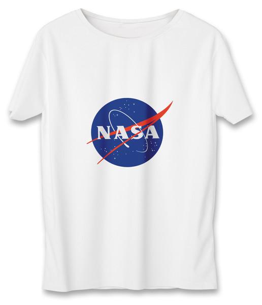 تی شرت زنانه به رسم  طرح ناسا کد 585