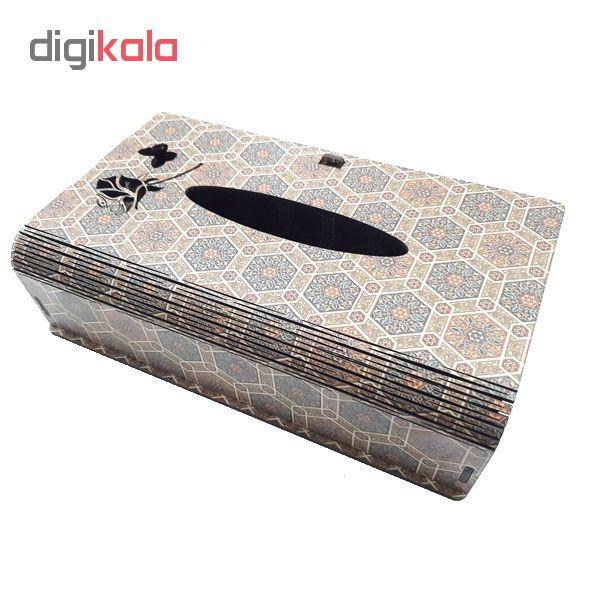 جعبه دستمال کاغذی کد 110