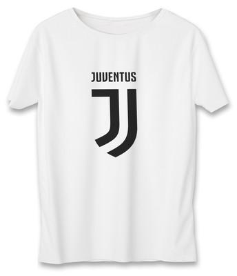 تصویر تی شرت زنانه به رسم طرح یوونتوس کد 588