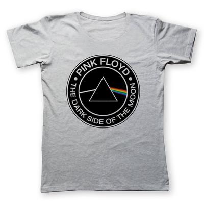 تصویر تی شرت زنانه به رسم طرح پینک فلوید کد481