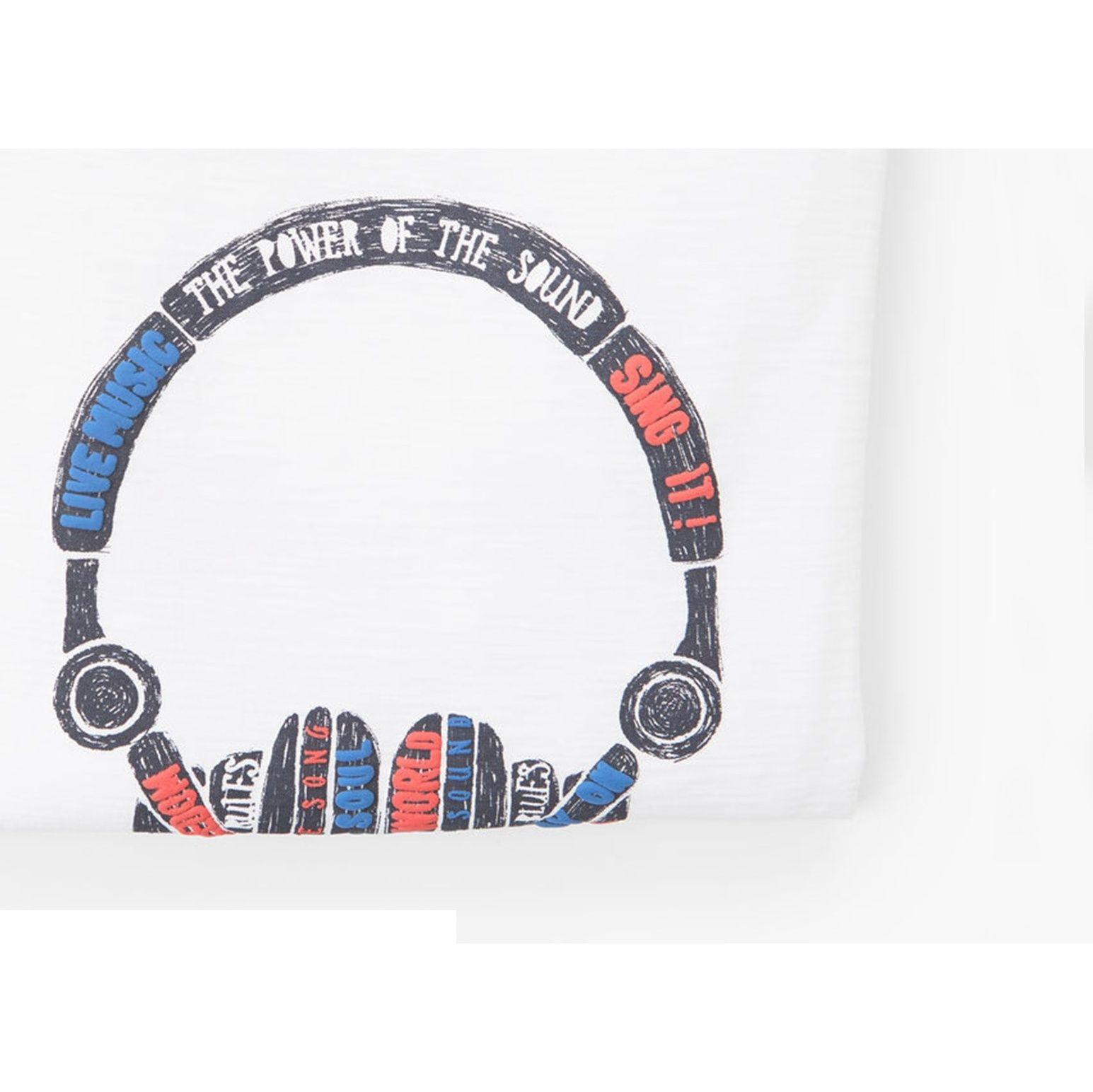 تی شرت نخی پسرانه - مانگو - سفيد - 6