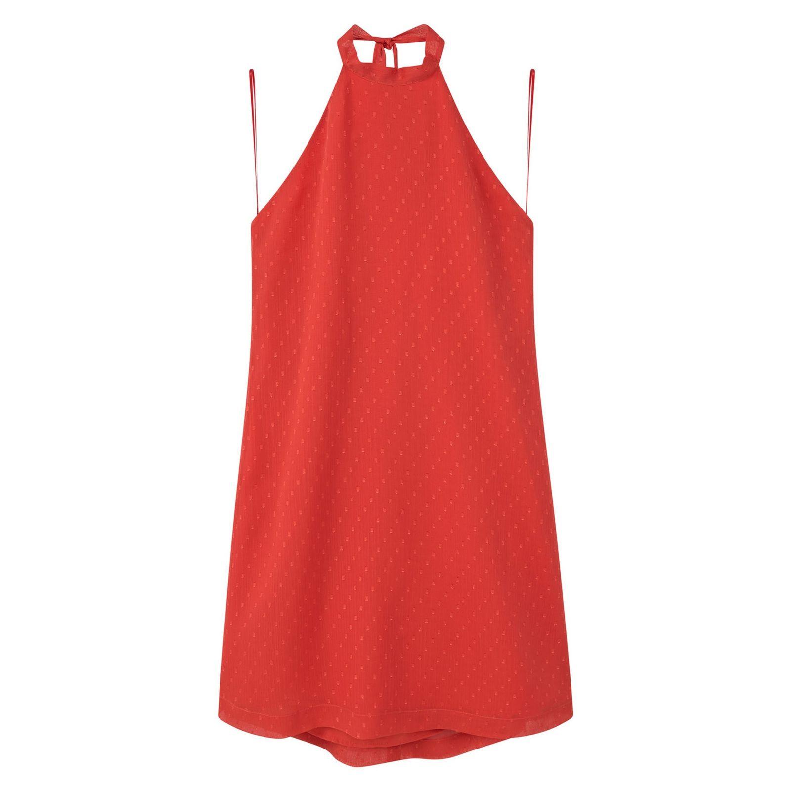 پیراهن کوتاه زنانه - مانگو - گوجه اي - 1