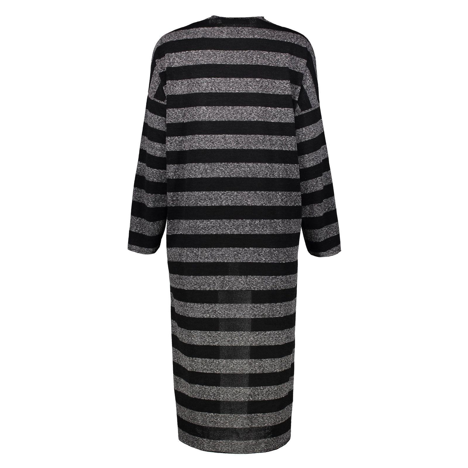 ژاکت بلند زنانه - مانگو - طوسي - 2