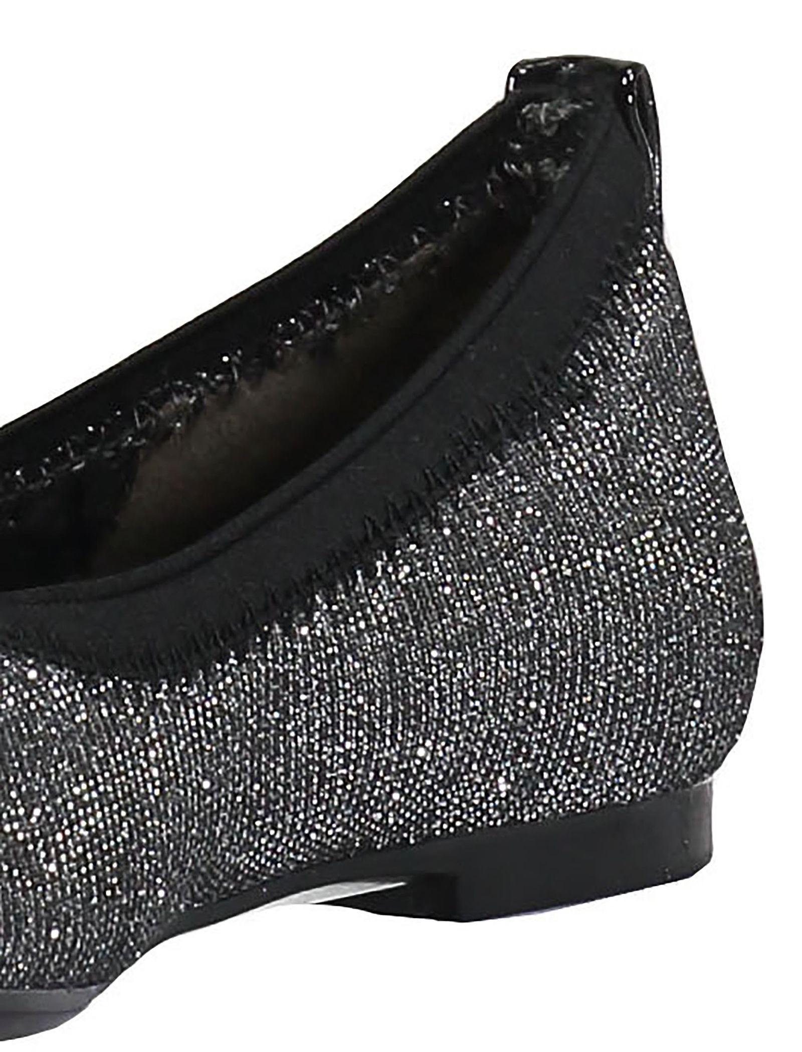 کفش تخت عروسکی دخترانه - باتا - نقره اي - 7