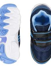 کفش ورزشی چسبی دخترانه - باتا - آبي  - 2