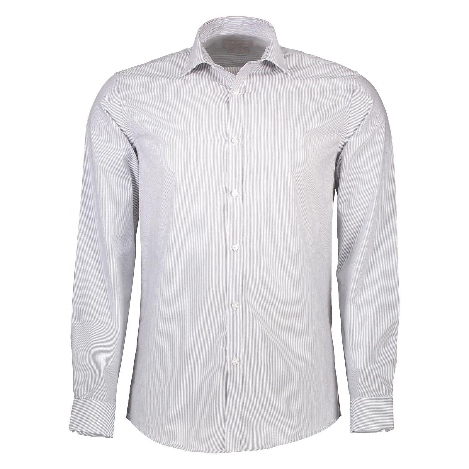 پیراهن رسمی مردانه - رد هرینگ - طوسي - 1