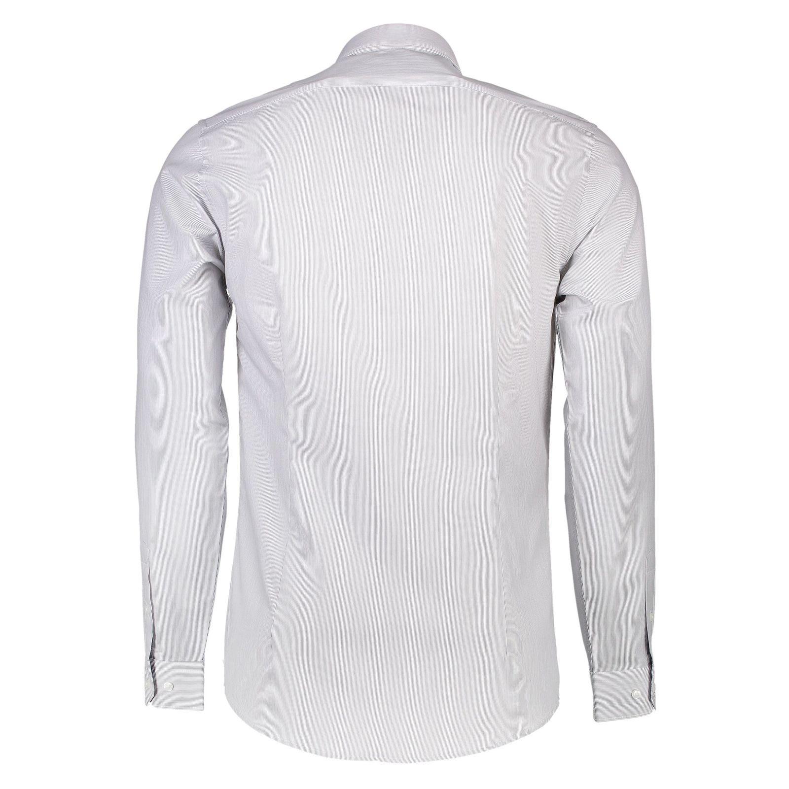 پیراهن رسمی مردانه - رد هرینگ - طوسي - 2