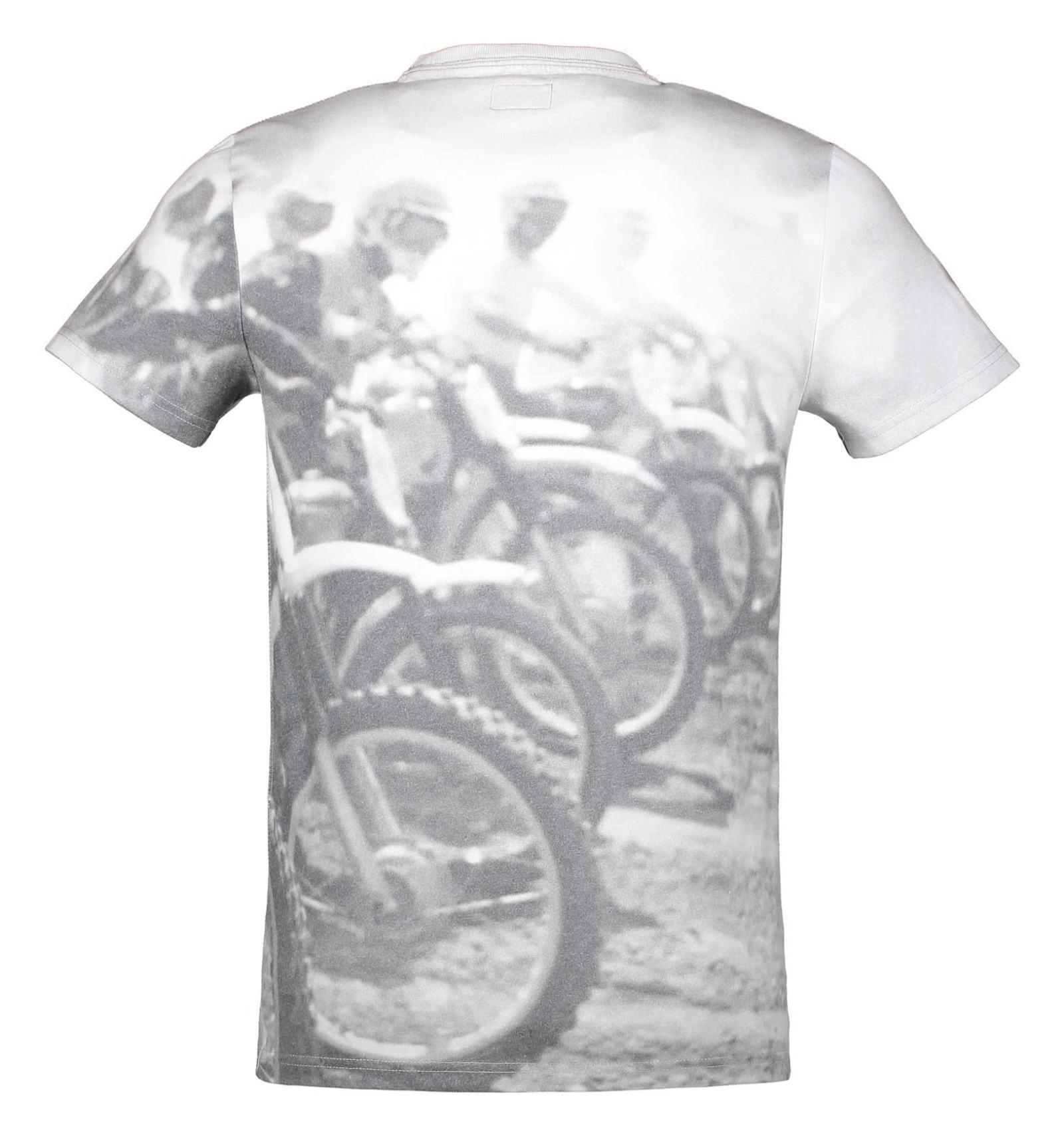 تی شرت یقه گرد مردانه - سوپردرای - طوسي تيره - 2