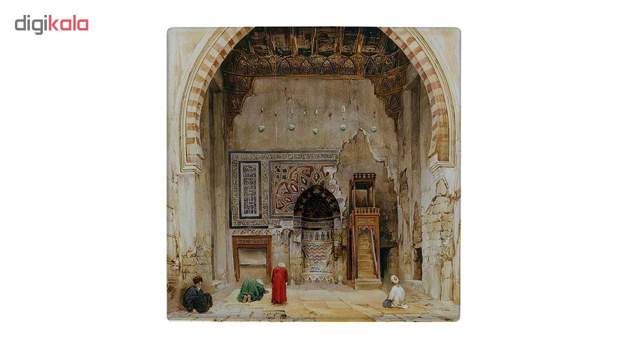 خرید                      کاشی طرح نقاشی مسجدی در مصر کد wk128