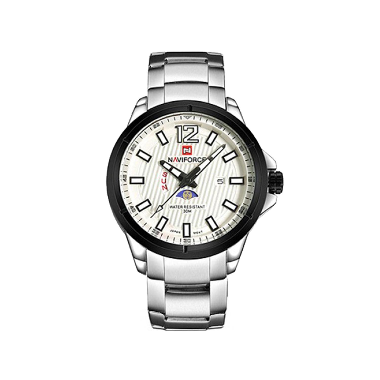 کد تخفیف                                      ساعت مچی عقربه ای مردانه نیوی فورس مدل NF9084-SBW