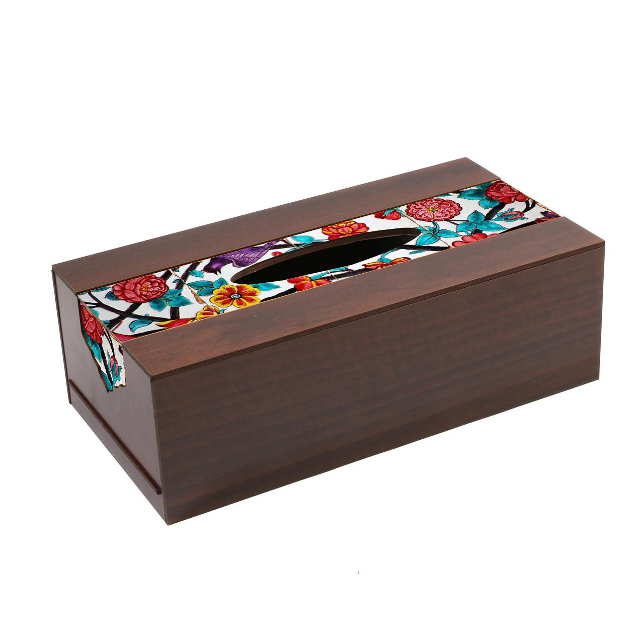 عکس جعبه دستمال کاغذی تهران جی اف ایکس مدل D156