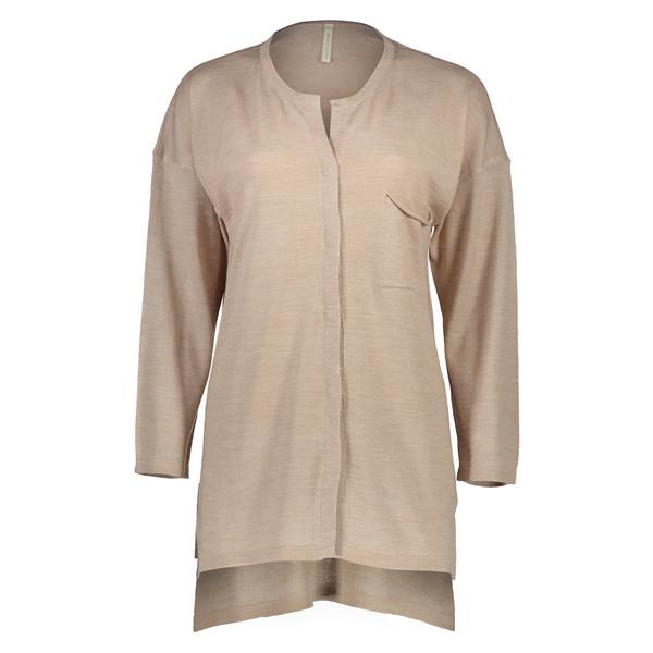 ژاکت پشمی بلند زنانه - یارگیجی