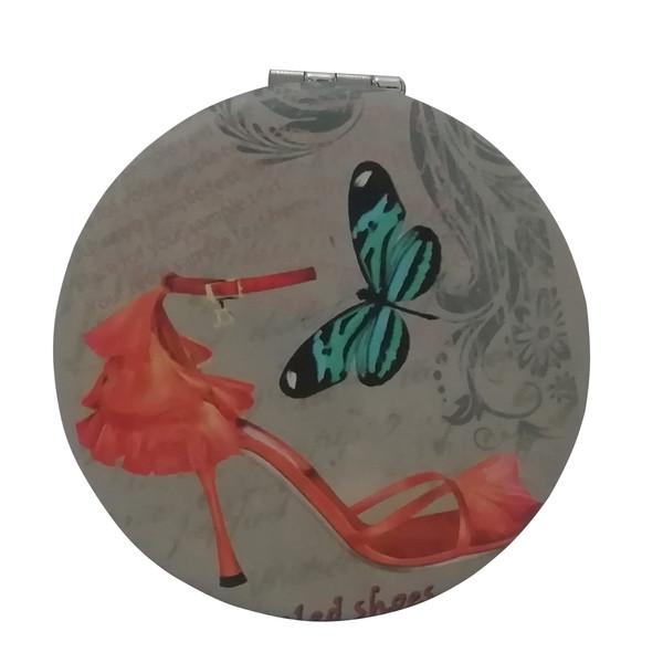 آینه جیبی طرح پروانه