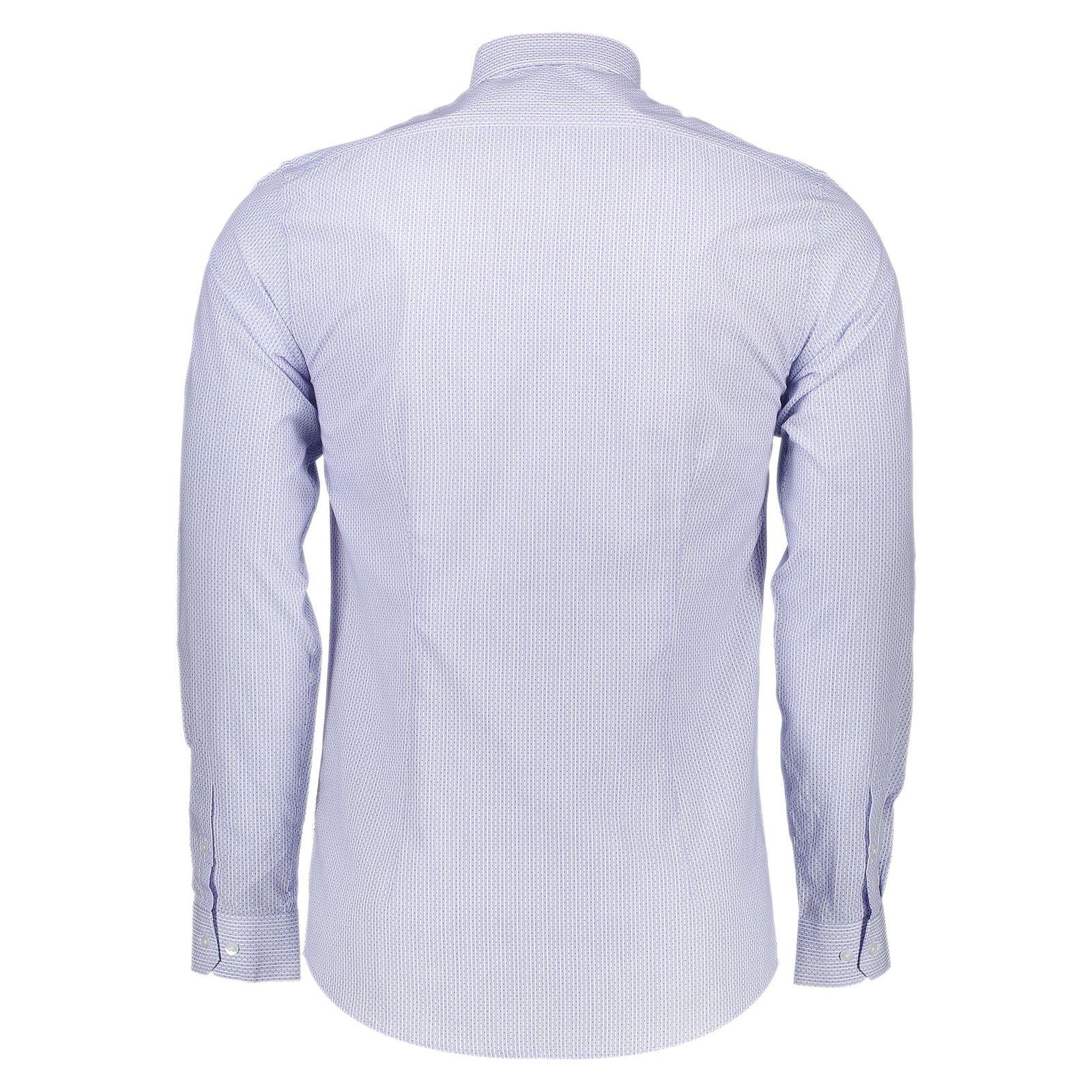 پیراهن رسمی مردانه - رد هرینگ - آبي روشن - 2