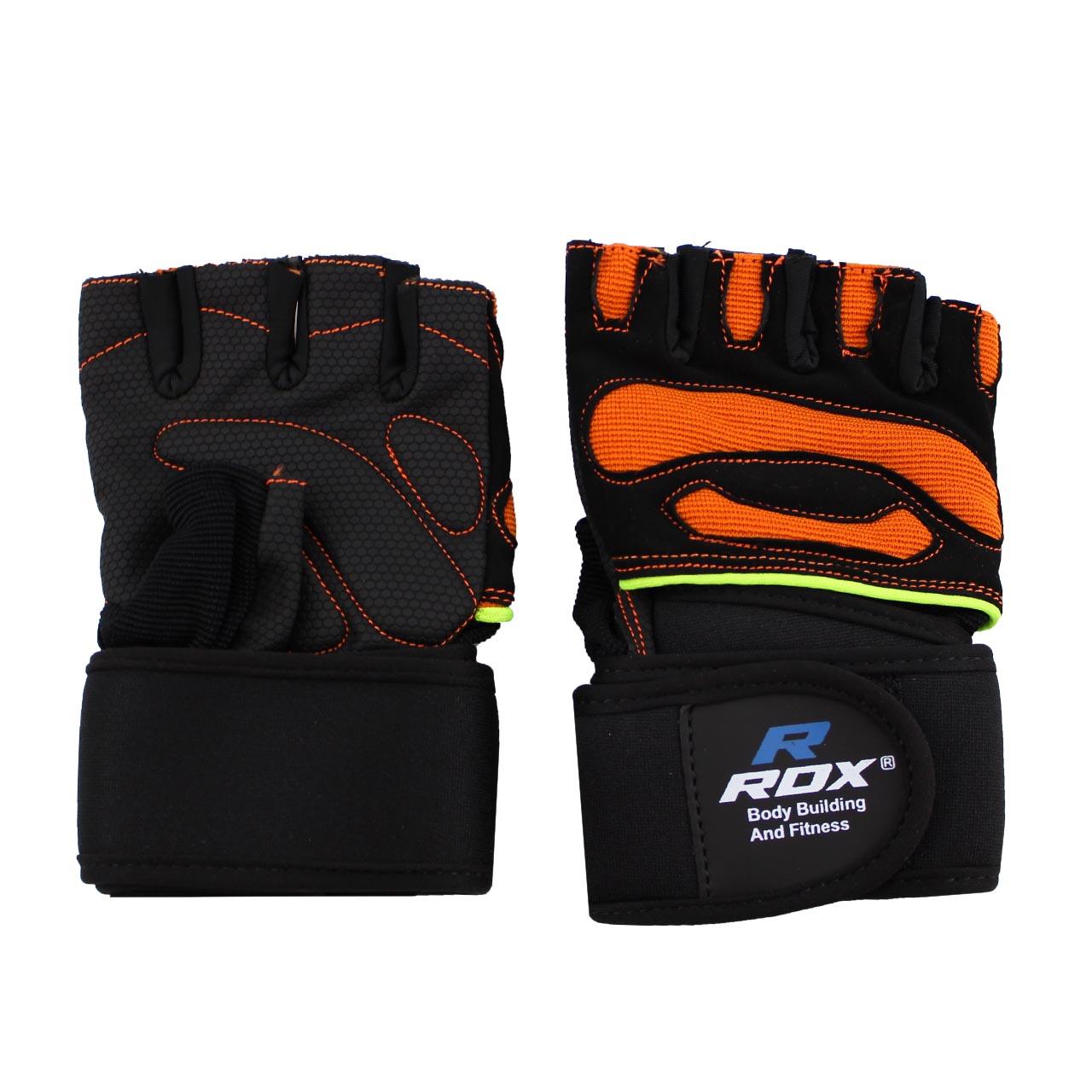 دستکش بدنسازی مردانه آر دی ایکس مدل RD2000