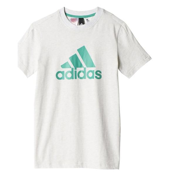 تی شرت نخی یقه گرد پسرانه YB Logo - آدیداس
