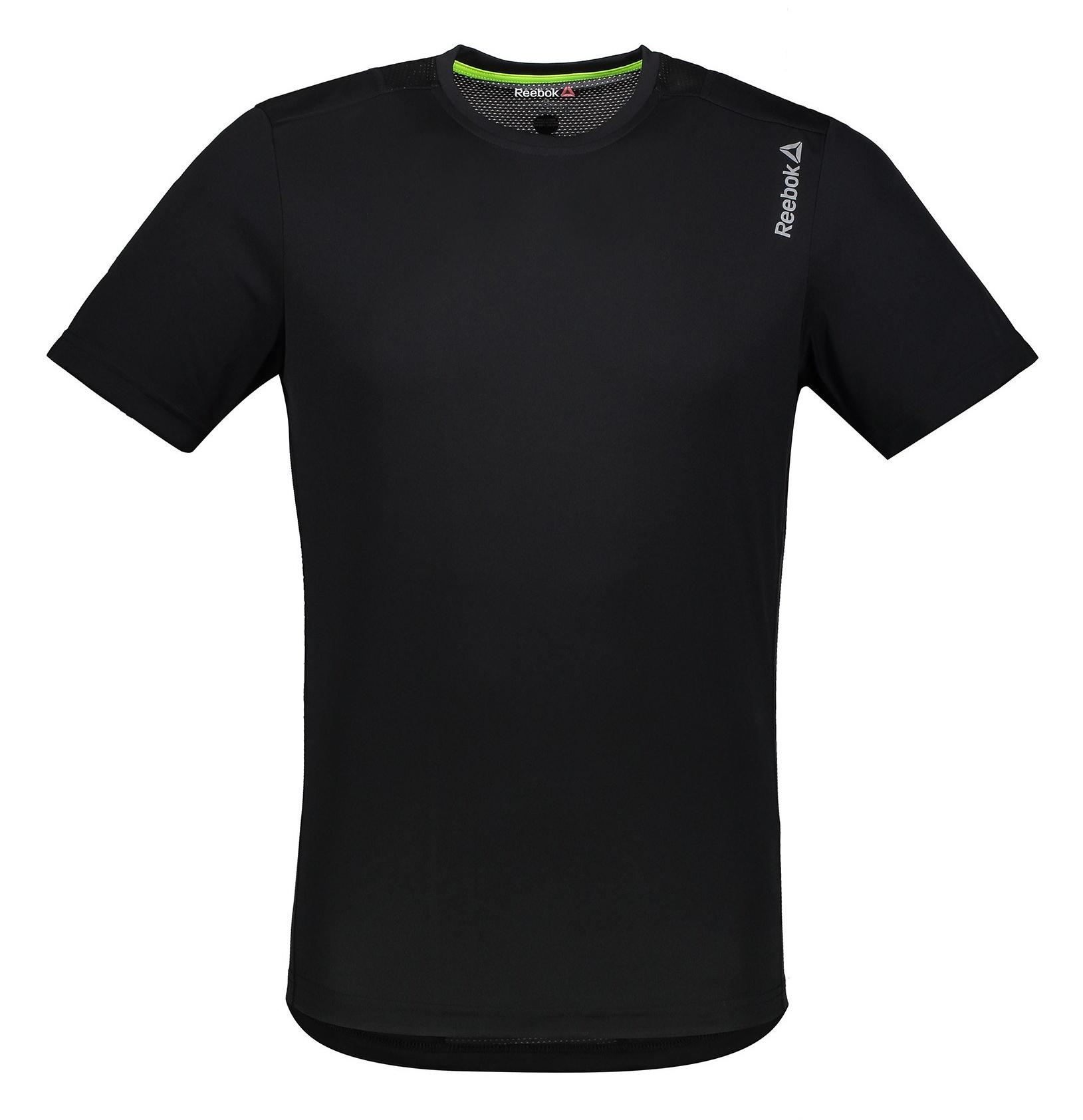 تی شرت ورزشی یقه گرد مردانه - ریباک